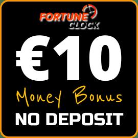 Денежный Бонус Без Депозита на сайте Fortune Clock на сайте Slotogram.com есть на фото.